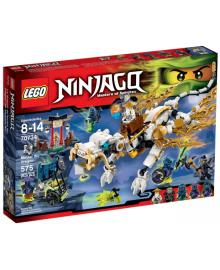 Детский конструктор LEGO Дракон мастера Ву (70734)