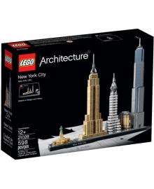 Конструктор LEGO Architecture Нью-Йорк (21028), 5702015591218