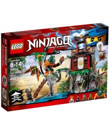 Конструктор LEGO NINJAGO Остров тигриной вдовы (70604)