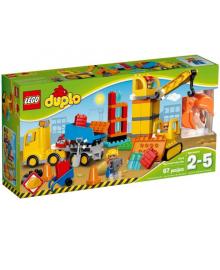 Конструктор LEGO DUPLO Большая Стройплощадка (10813)