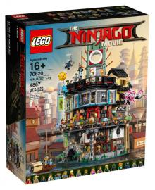 Конструктор LEGO NINJAGO Ниндзяго Город (70620)