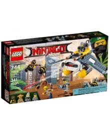 Конструктор LEGO NINJAGO Бомбардировщик «Морской дьявол» (70609)