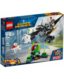 Конструктор LEGO Super Heroes Команда Супермена и Крипты (76096)