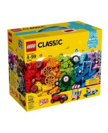 Конструктор LEGO Classic Кубики и колеса (10715)