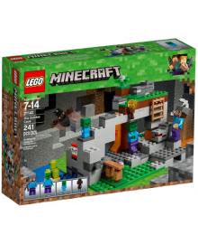 Конструктор LEGO Minecraft Пещера зомби (21141)