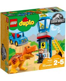 Конструктор LEGO DUPLO Башня ТиРекса (10880)