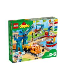 Конструктор LEGO DUPLO Грузовой поезд 10875 (10875), 5702016117271