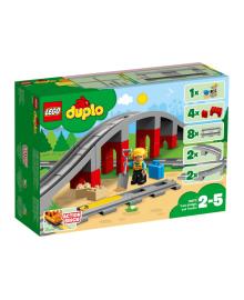 Конструктор LEGO DUPLO Железнодорожный мост (10872), 5702016117240
