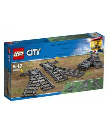 Конструктор LEGO City Железнодорожные стрелки (60238), 5702016364675
