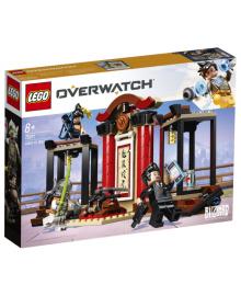 Конструктор LEGO Overwatch Хензо против Гэндзи (75971)