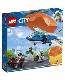 Конструктор LEGO City Арест парашютиста (60208)