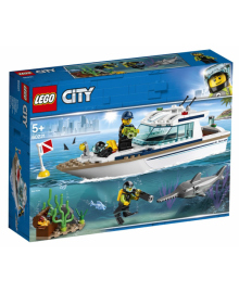 Конструктор LEGO City Яхта для дайвінгу (60221), 5702016369533