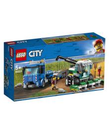 Конструктор LEGO City Транспортировщик для комбайна (60223), 5702016369557