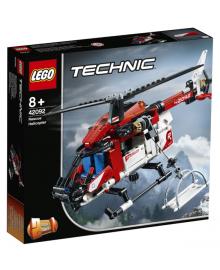 Конструктор LEGO Technic Спасательный вертолёт (42092), 5702016369571