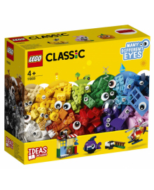 Конструктор LEGO Classic Кубики и глазки (11003), 5702016367782