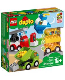 Конструктор LEGO DUPLO Мои первые машинки (10886), 5702016367584