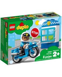 Конструктор LEGO DUPLO Полицейский мотоцикл (10900), 5702016367645