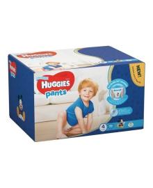 Подгузники-трусики Huggies Pants Box для мальчиков Размер 4 (9-14 кг), 72 шт