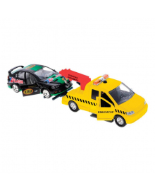 Игровой набор Технопарк Эвакуатор с машиной 1:32