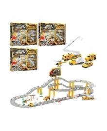 Трек Shantou Jinxing plastics ltd Строители, 53 эл. (в ассорт.) CM557-21