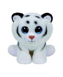 Мягкая игрушка TY Beanie Babies Белый Тигренок Tundra, 15 см