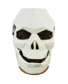 Маска Киборг-череп (белый) 200219-037