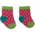 Носочки малиновые с салатовым Master Step 809, 6957348006703