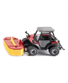 Машина трактор с косилкой Siku Aebi TerraTrac TT211 1:32