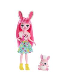 Кукла Enchantimals Кролик Бри и ее питомец