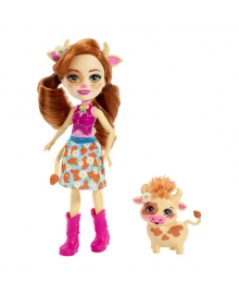 Кукла Enchantimals Коровка Кайла и ее питомец