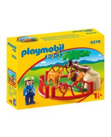 Игровой набор Playmobil Вольер со львами