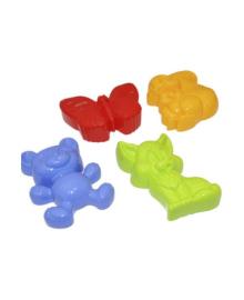 Набор из 4 больших форм для песка Numo Toys