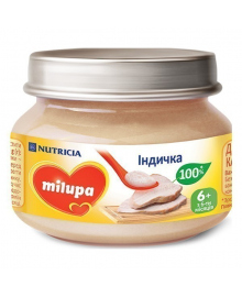 Пюре Milupa Индюшка, 80 г