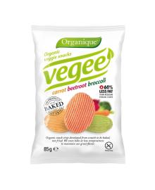 Снеки картофельные McLLOYD'S Vegee органические 85 г