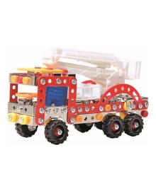 Конструктор металлический Qunxing Toys Пожарная машина 239 эл