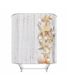 Детская штора для ванной Berni Песчаные обитатели 180 х 180 см (CMLN)