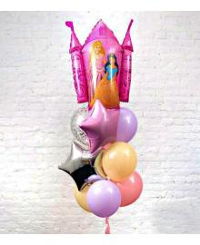 Букет шаров Принцессы 10 шт. ГЕЛИЙ 280319-201