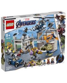 Детский конструктор LEGO Битва на базе Мстителей (76131), 5702016376012