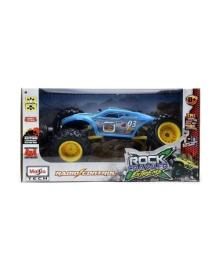 Автомодель на р/у Maisto Rock Crawler Extreme, синяя