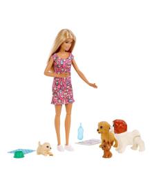 Набор Mattel Barbie Детский садик щенков