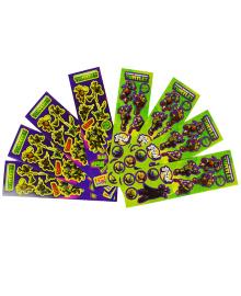 Наклейки Черепашки-ниндзя 8 3501-3103