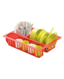 Набор посуды с сушилкой Ecoiffier