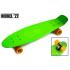 Детский пенниборд  Nickel 27. Матовые колеса Зелений (1429120288)