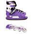Детские ролики-коньки  2в1 Фиолетовый 38-41 (2098091463-L)