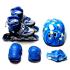 Детские ролики с набором защиты Scale Sports (979210876-S) Голубой 29-33 (979210876-S)