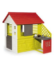 Домик Smoby Солнечный с летней кухней