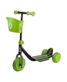 Самокат Stiga Mini Kid 3w Kick Scooter Black Green