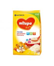 Каша Milupa рисовая безмолочная 170 г