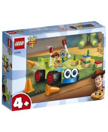 Конструктор LEGO Juniors Вуди на машине (10766), 5702016367713