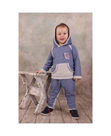 Костюм спортивный трикотажный джинс Модный карапуз 03-00563-1